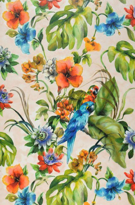 Archiv Papier peint Jula multicolore Largeur de lé