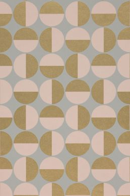 Wallpaper Wahida pale pink A4 Detail