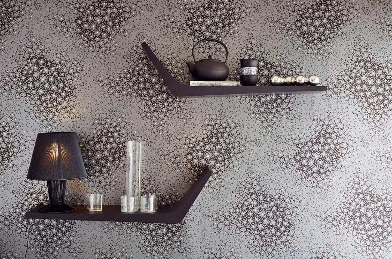 stopela perldunkelgrau anthrazit silber glitzer. Black Bedroom Furniture Sets. Home Design Ideas
