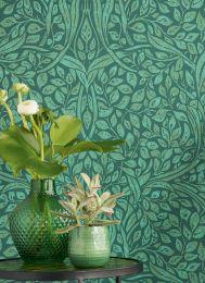 Papel pintado Cortona verde helecho