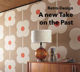 Retro Wallpaper with the Wow Factor Time Travel in our online shop