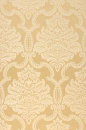 Papel de parede Amalia amarelo areia