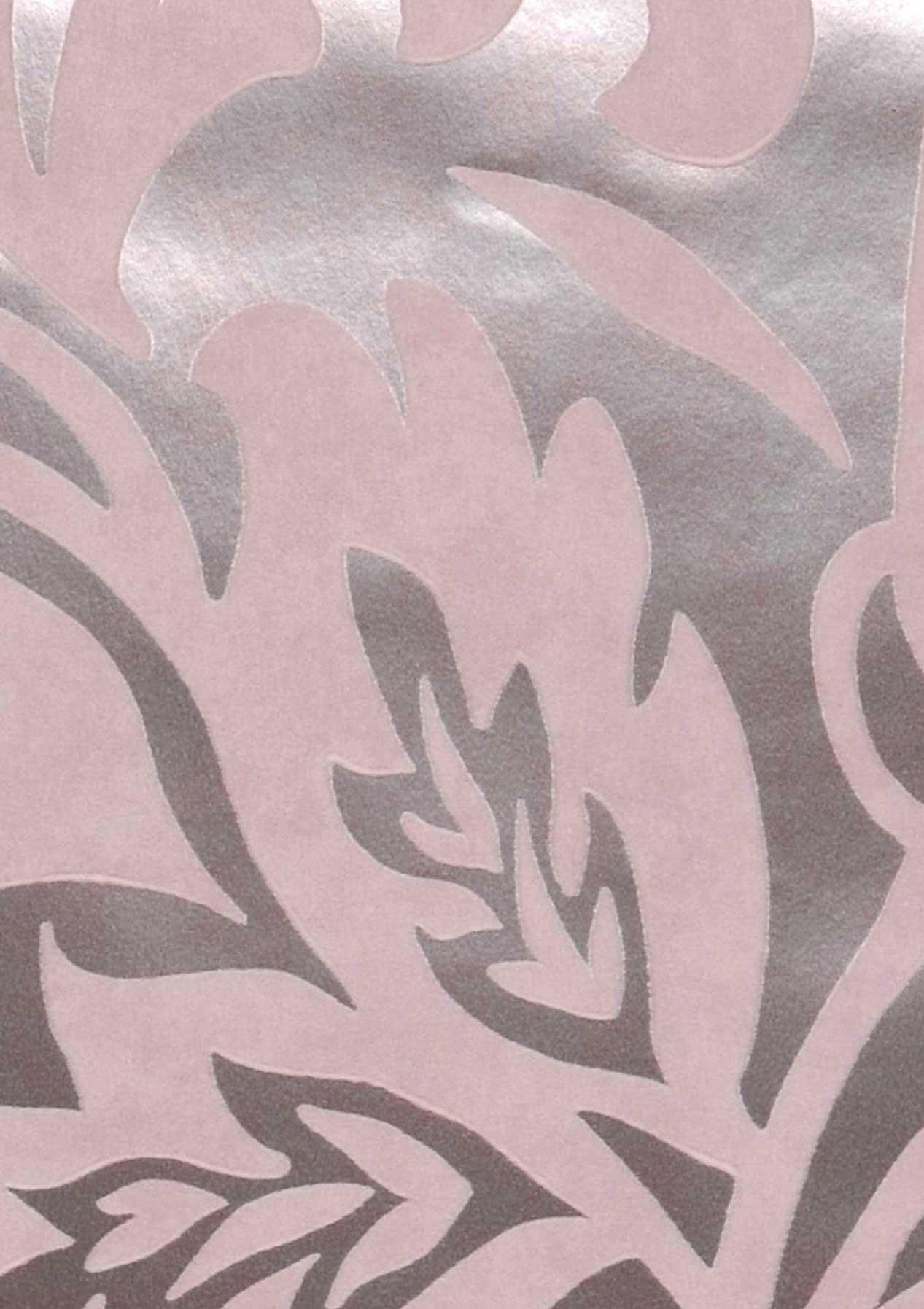 Carta da parati aphrodite argento rosa pallido carta for Carta da parati anni 70 vendita on line