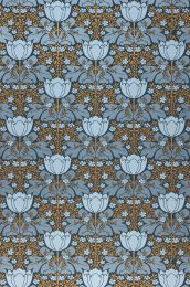 Papel pintado Marina gris azulado perla lustre
