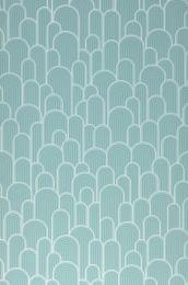 Wallpaper Fanti pastel turquoise
