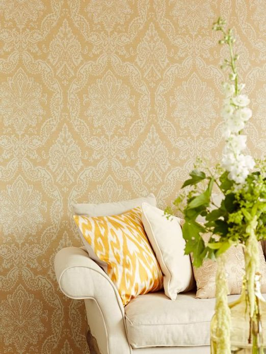 Archiv Wallpaper Heigold beige Room View