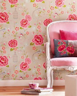 Flower Wallpaper Floral Beauty In The Home Wallpaper Shows Emotions