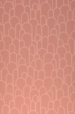 Papel pintado Fabius palo de rosa Ancho rollo