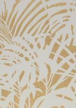 Papier Peint Persephone Dore Brillant Blanc Gris Papier Peint
