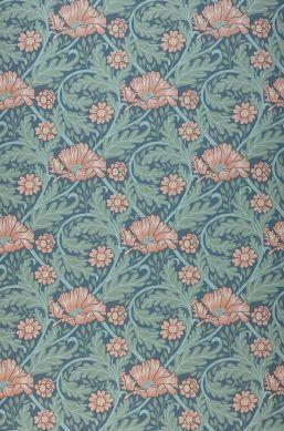 Papel pintado Hilde gris azulado Bahnbreite