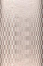 Papel pintado Serika Brillante Elementos gráficos Rayas Blanco crema Palo de rosa brillante