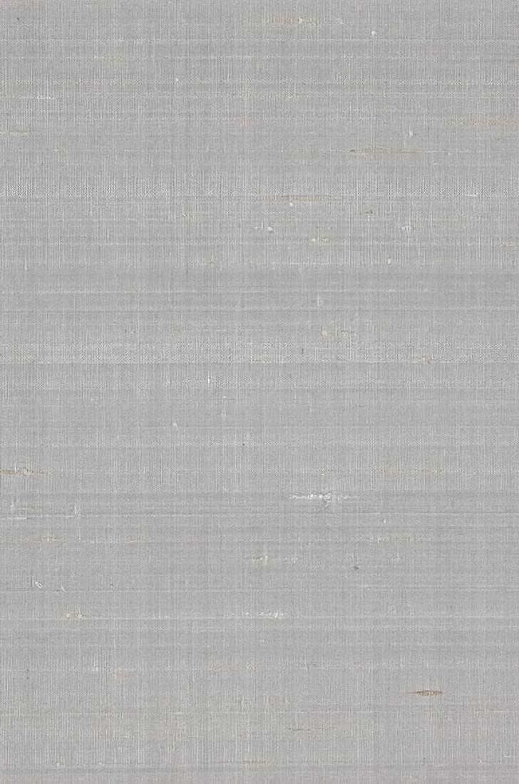 Carta da parati natural silk 03 grigio argento carta for Carta parati argento