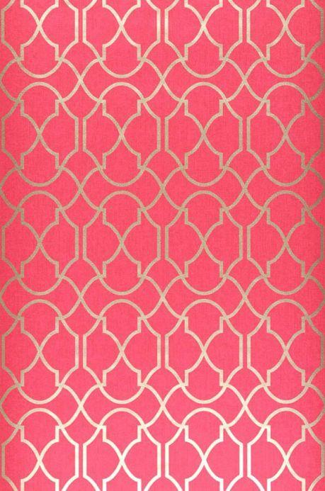 Archiv Papier peint Telenzo rouge framboise Largeur de lé