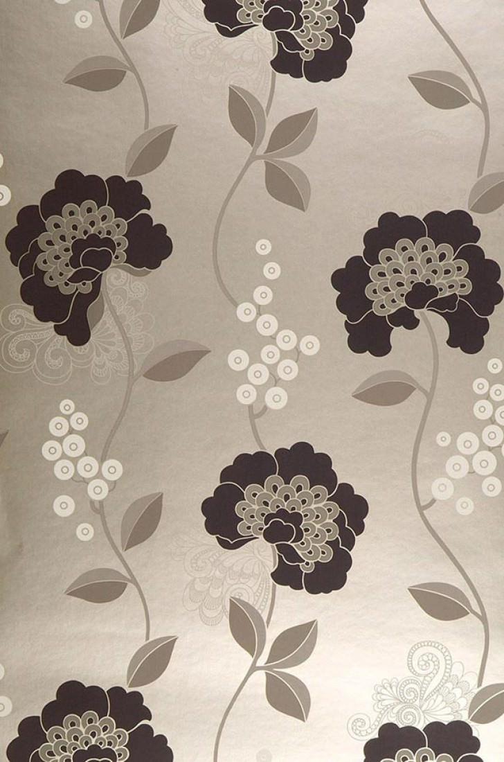 mimir weissgold anthrazit beigegrau cremeweiss florale tapeten tapetenmuster tapeten. Black Bedroom Furniture Sets. Home Design Ideas
