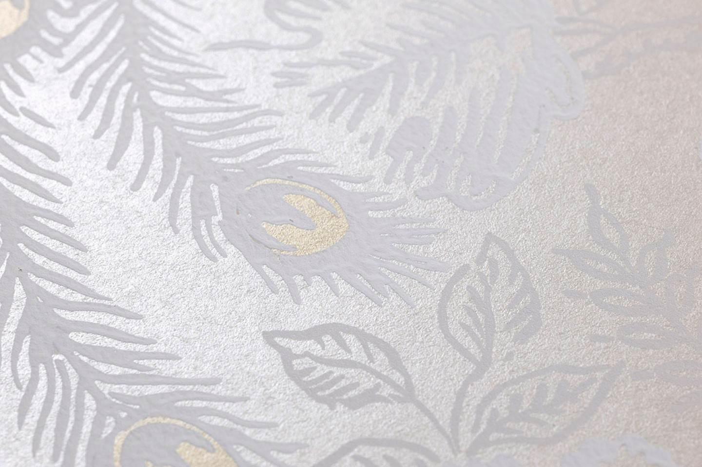 tapete izanuela creme cremeweiss gold schimmer weiss. Black Bedroom Furniture Sets. Home Design Ideas