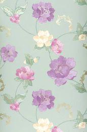 Papel pintado Florentina violeta