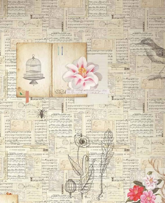 papier peint ringo blanc cr me ivoire clair gris fonc bleu clair rose vif rouge papier. Black Bedroom Furniture Sets. Home Design Ideas