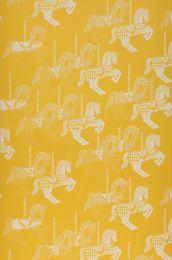 Papel pintado Trinity amarillo limón