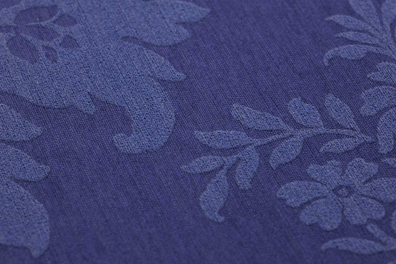 papier peint odilia bleu nuit bleu violet papier. Black Bedroom Furniture Sets. Home Design Ideas