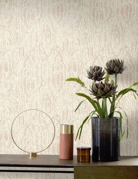 Design wallpaper Wallpaper Adomako cream Room View