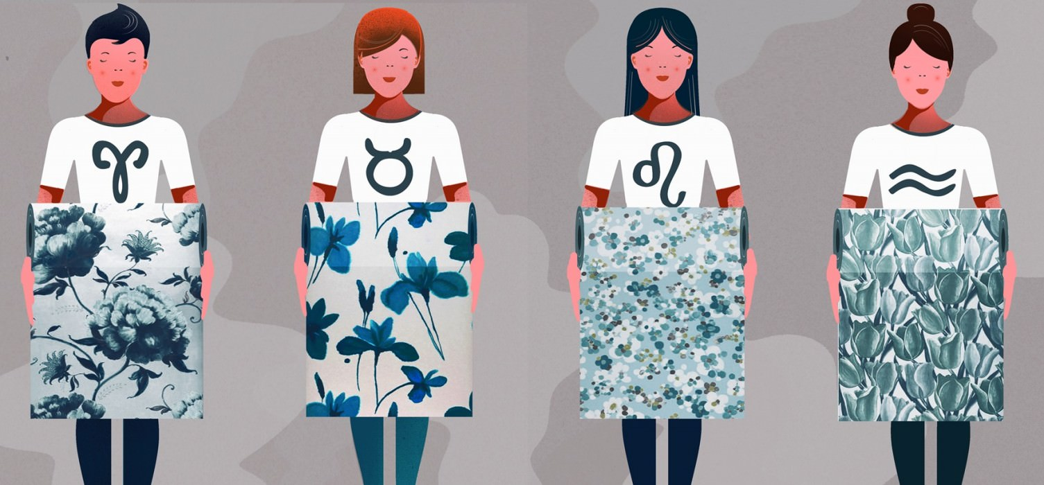 Papeles pintados del hor scopo para mujeres blog - Papeles pintados de los 70 ...