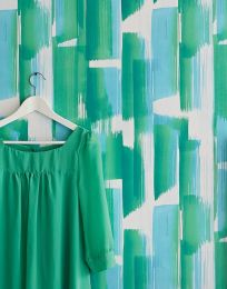 Papel de parede Pandero tons de verde