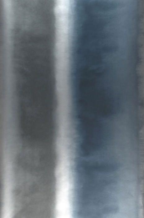 Papier peint Riconas Chatoyant Rayures Tons de gris Argenté