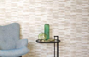 Wallpaper Lasse light ivory