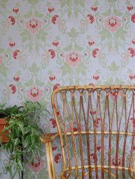 Wallpaper Clothilde light green