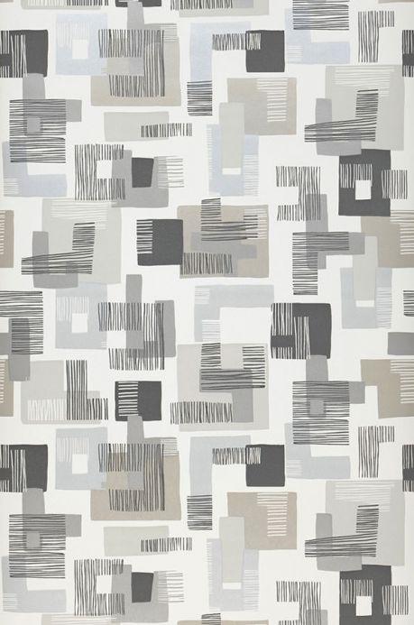 Archiv Papel pintado Felipe tonos de gris Ancho rollo