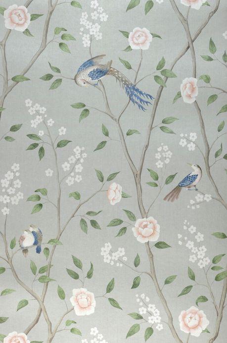 Floral Wallpaper Wallpaper Leonidas pastel green Roll Width