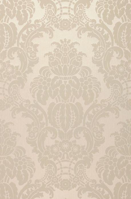 Archiv Papel pintado Leandra beige grisáceo claro Ancho rollo