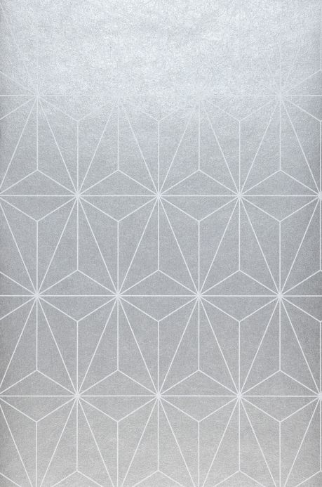 Wallpaper Wallpaper Morton silver grey Roll Width