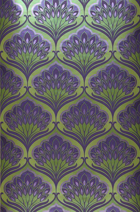 Archiv Papier peint Perdula violet foncé Largeur de lé