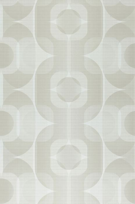 Wallpaper Sinon Matt Retro elements Cream Pale beige grey Light beige grey