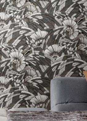Papel de parede Siskara cinza escuro Ver quarto