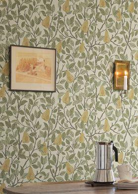 Wallpaper Estelle cream Raumansicht
