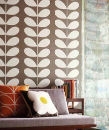 Wallpaper Diana grey brown