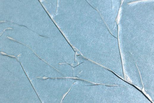 Papel de parede Crush Wilderness 02 azul turquesa Detailansicht