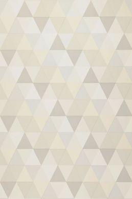 Wallpaper Tamesis cream Roll Width