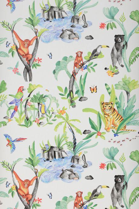 Papel de parede infantil Papel de parede Hauki multicolorido Bahnbreite