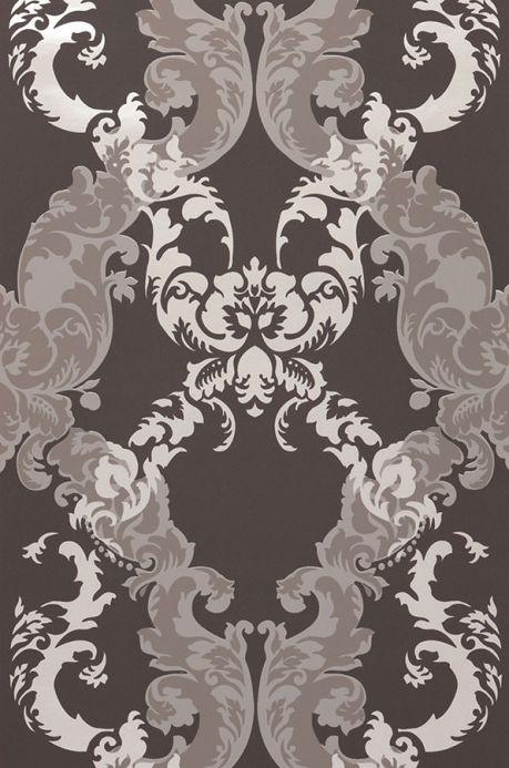 Archiv Wallpaper Siemara dark grey Roll Width