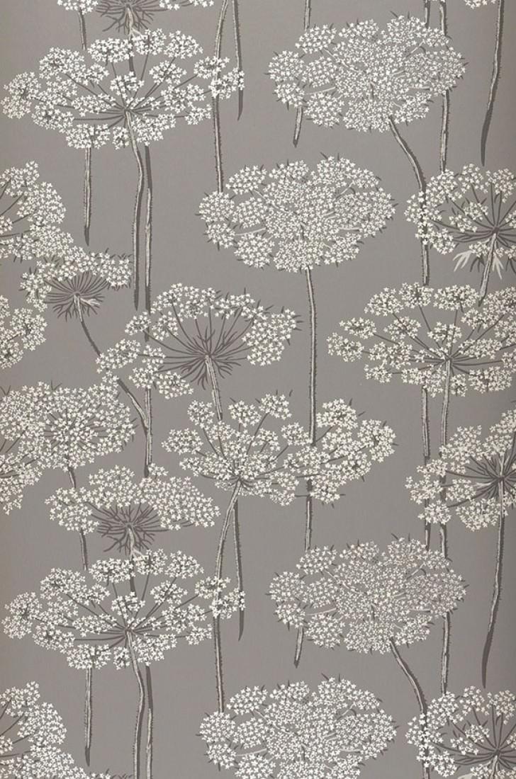 esoka grau anthrazit grauweiss hellgrau florale tapeten tapetenmuster tapeten der 70er. Black Bedroom Furniture Sets. Home Design Ideas