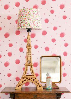 Papel pintado Pia rosado Ver habitación
