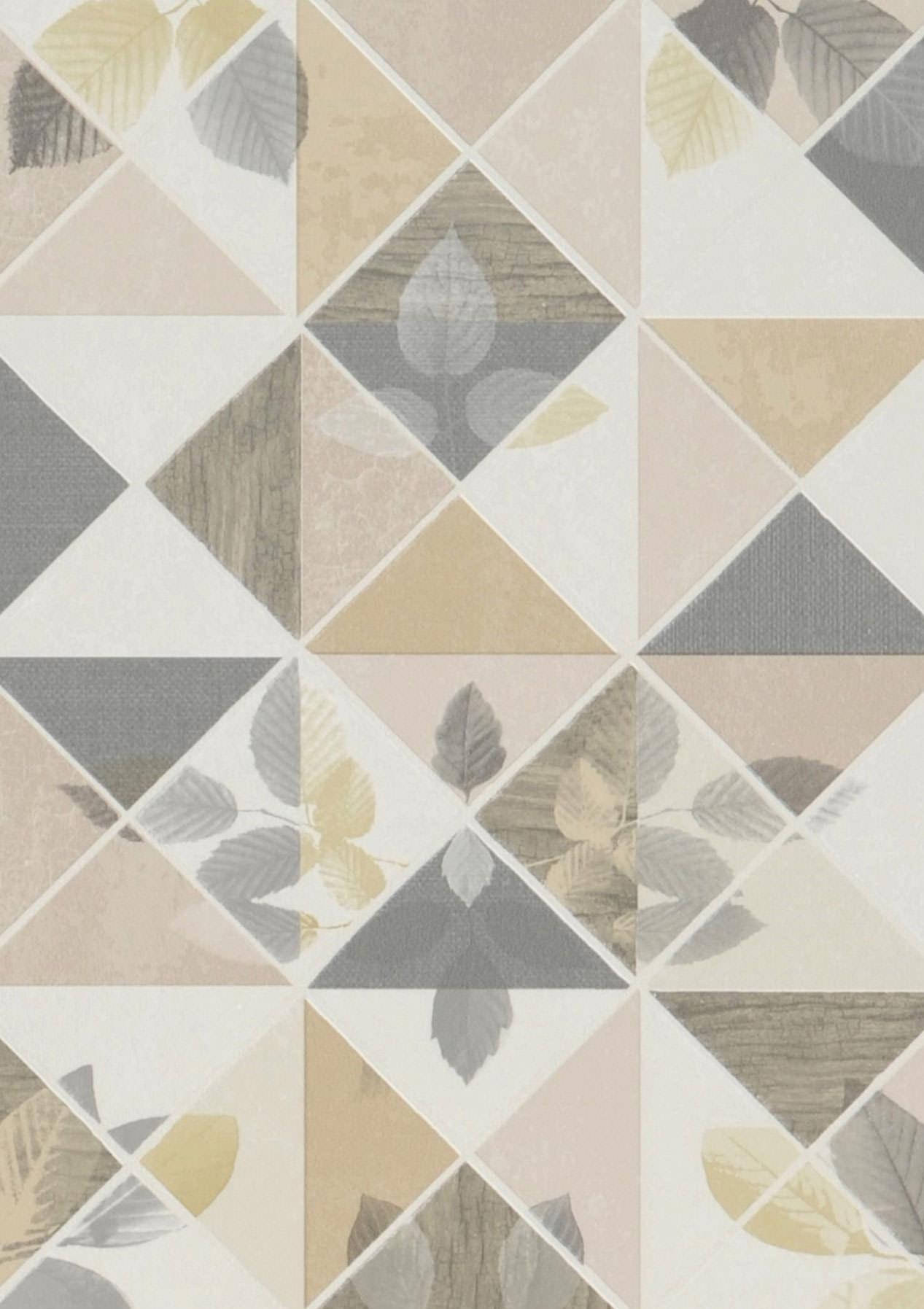 Tapete waldivia beige cremeweiss elfenbein grau for Tapete nach hause