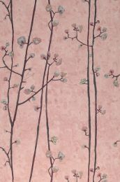 Wallpaper VanGogh Branches pale rosewood
