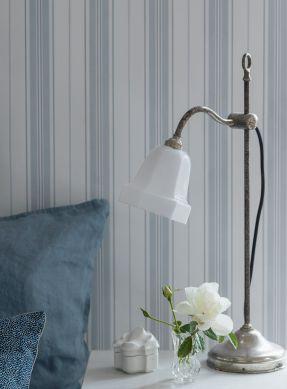 Papel de parede Valerian azul acinzentado claro Ver quarto