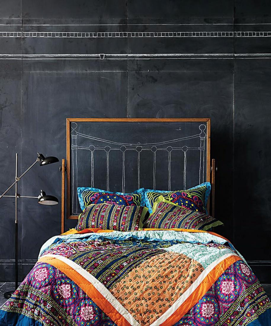 tinta lousa wallpaper anthrazit anthrazit tapeten. Black Bedroom Furniture Sets. Home Design Ideas