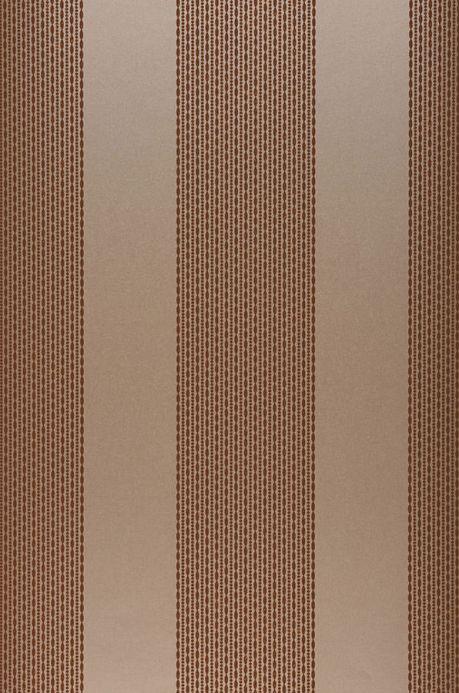 Archiv Papier peint Mendrik brun beige Largeur de lé
