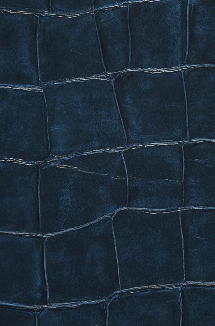 papier peint croco 04 bleu fonc papier peint des ann es 70. Black Bedroom Furniture Sets. Home Design Ideas